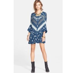 FP // From Your Heart Printed Mini Dress🌛